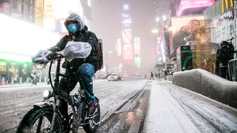 Winter storm dropped more snow in parts of the Northeast than all of last year's winter season