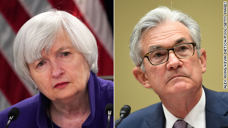 Yellen and Powell praise stimulus but warn that more needs to be done