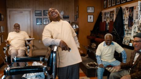 Little appears to have changed at the iconic Queens barber shop where Akeem once visited.