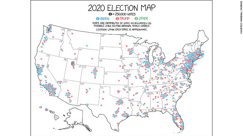 This is the best map of the 2020 election you'll see