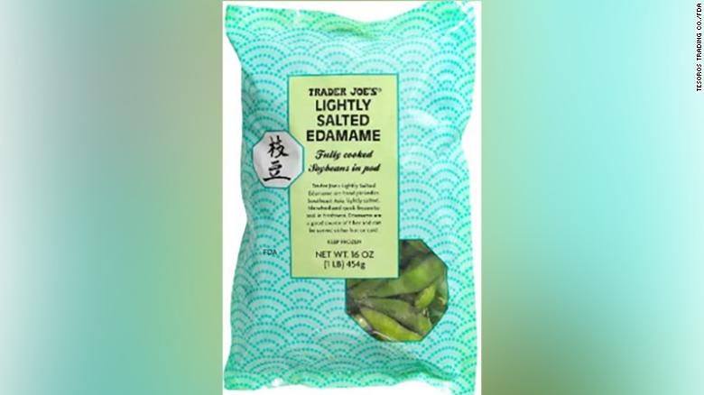 Some Trader Joe's frozen Lightly Salted Edamame have been recalled due to listeria