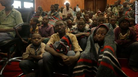 Rescued Nigerian schoolboys brought back to families in state capital