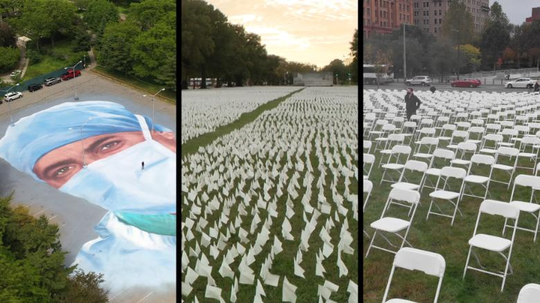 These memorials remind us of the Americans lost to Covid-19