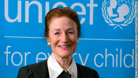 Official portrait of UNICEF Executive Director Henrietta H. Fore at  UNICEF Headquarters