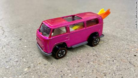 This Hot Wheels Volkswagen prototype toy is worth an estimated $150,000.
