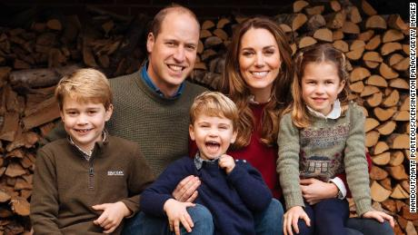 In December, Kensington Palace released a relaxed photograph of the family at their Anmer Hall residence in Norfolk.