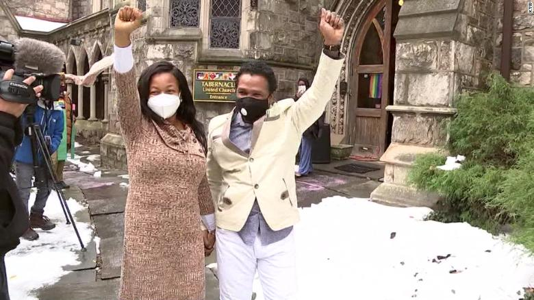 A couple hid in two Philadelphia churches for 843 days to avoid deportation. Now they are free