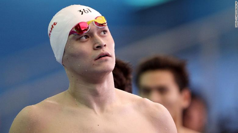 Chinese swimmer Sun Yang's doping ban referred back to CAS after appeal