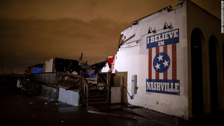It's been a tough year for Nashville: Tornadoes, a derecho, the pandemic and now an explosion