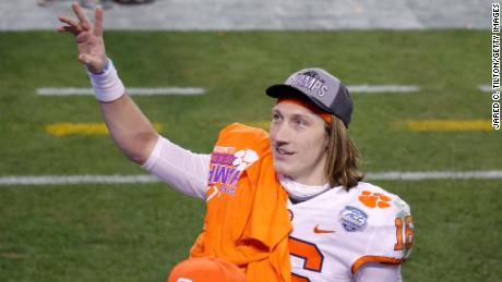 Clemson's Trevor Lawrence is the hottest prospect in college football, and if he declares for the 2021 NFL Draft, is very likely to be taken with the first overall pick by the Jacksonville Jaguars.