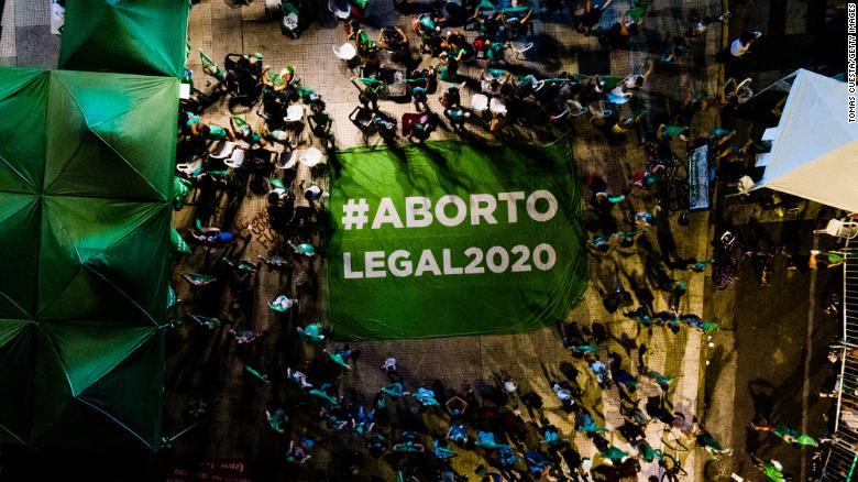 What Argentina's 'green handkerchief' movement is all about