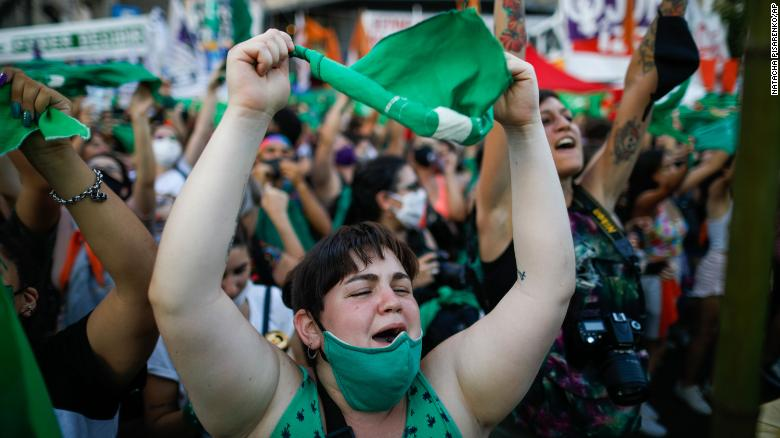 Argentina's Senate approves historic bill to legalize abortion