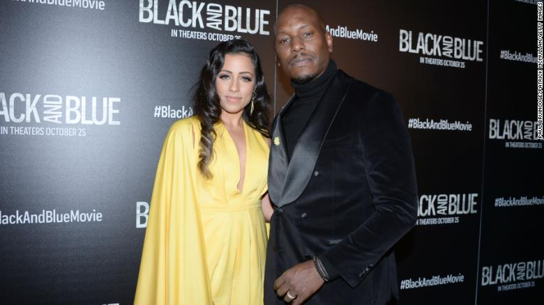 Tyrese Gibson and wife Samantha are divorcing