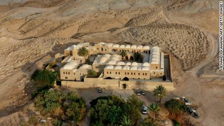 The Nabi Musa complex, the holy site where Moses is believed to be buried, which lies in the West Bank between Jerusalem and Jericho.