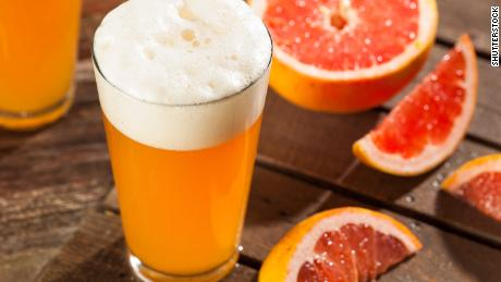 With its citrus kick, a shandy is oh-so refreshing. This version combines beer with fresh grapefruit juice.