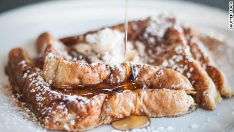 Ring in the New Year with French toast.