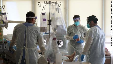 California hospitals stressed to the 'brink of catastrophe' by the coronavirus surge