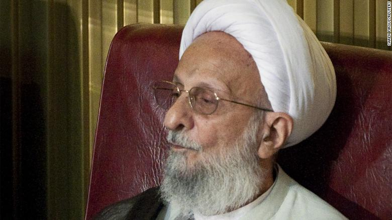 Iranian conservative cleric dies, according to state-run media