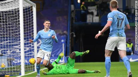 Pep Guardiola singled out Phil Foden for praise after his goal and performance in the convincing victory at Stamford Bridge.