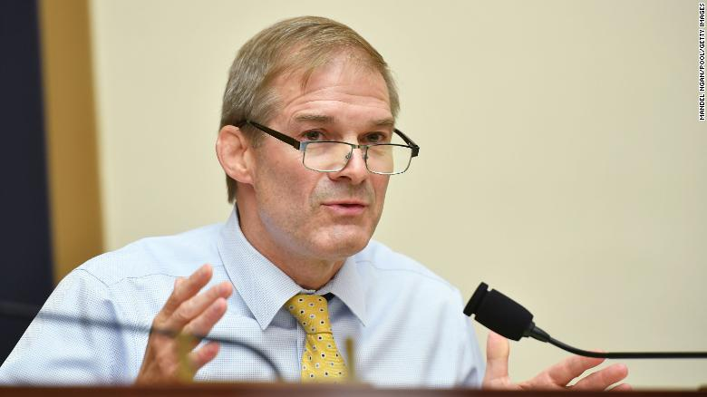 Jim Jordan won't run for Ohio US Senate seat in 2022