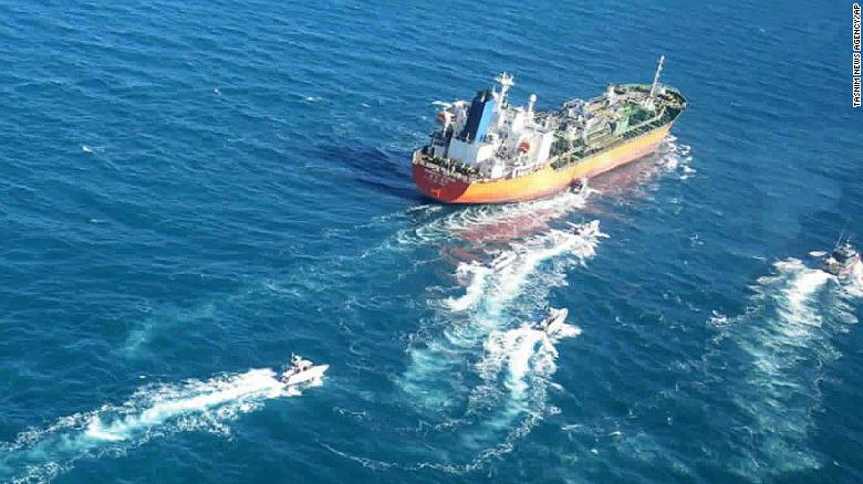 South Korea sends anti-piracy unit to Persian Gulf after Iran seizes tanker