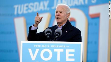 Biden says electing Georgia's Ossoff and Warnock would lead to $2,000 stimulus checks