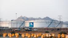 Storage tanks at a Saudi Aramco oil facility shown in September, 2019.