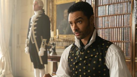 "Regé-Jean Page stars as Simon Basset, the Duke of Hastings, in ""Bridgerton."""