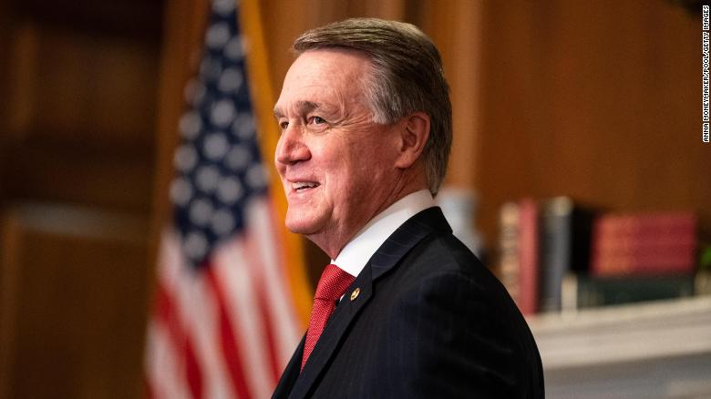 David Perdue files paperwork to run in 2022 Georgia US Senate race