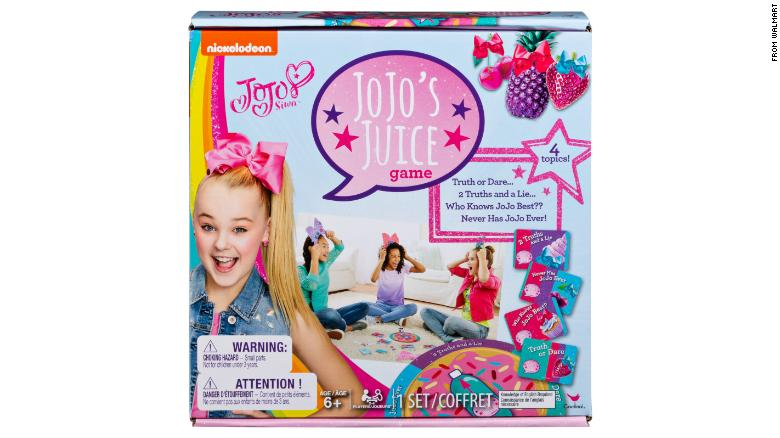 JoJo Siwa responds to board game controversy saying she 'had no idea' about the 'inappropriate' content