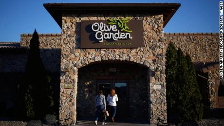 Restaurants like Olive Garden and Applebee's were in trouble even before the pandemic