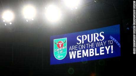 Tottenham has the chance to win a first major trophy since 2008