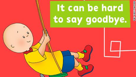 After 20 years on air, the children's show 'Caillou' is taking a bow