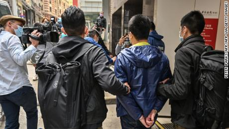 Hong Kong police arrest former pro-democracy lawmakers