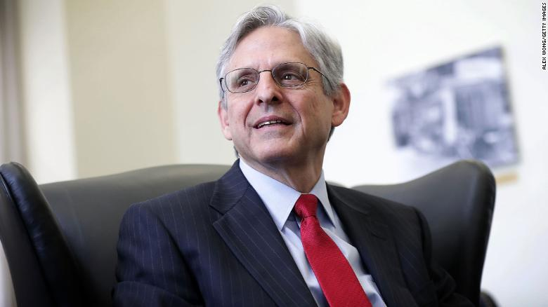 Merrick Garland, Biden's pick for attorney general, has confirmation hearing set for February 22