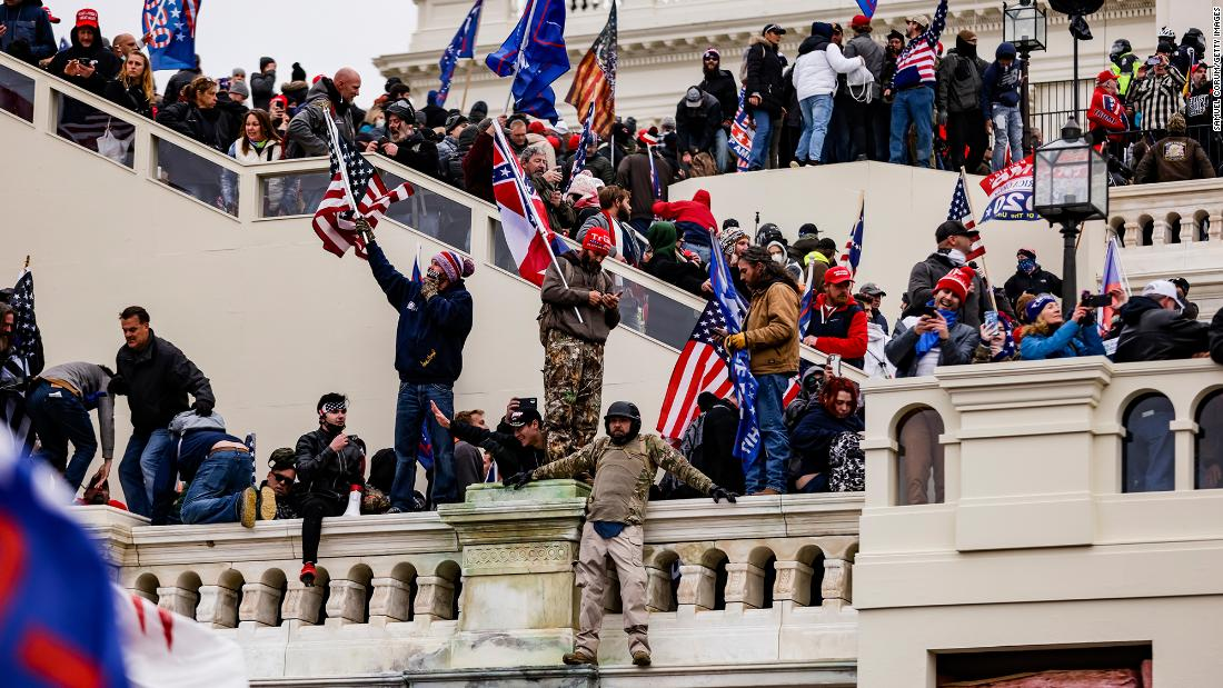 Investigators pursuing signs US Capitol riot was planned - CNN