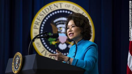 Inspector general finds misuse of office by Elaine Chao at Transportation Dept.
