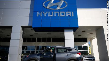 Hyundai's stock skyrockets on reports it is in talks with Apple to build a car