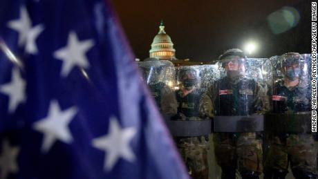 Pentagon and DC officials trade barbs over handling of Capitol riot as Army considers giving weapons to National Guard