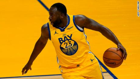Golden State Warriors forward Draymond Green against the Sacramento Kings this month.
