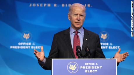 Biden touts gender parity and diversity of his Cabinet