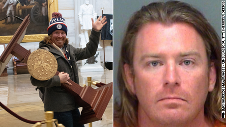DOJ announces charges against man carrying Pelosi's podium and others in US Capitol riot
