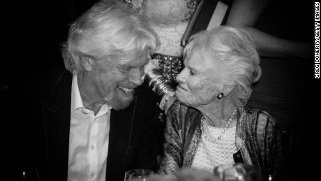Richard and Eve Branson in 2016.