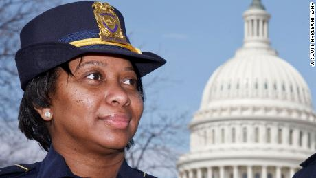 Yogananda Pittman named acting US Capitol police chief after riots