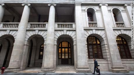 Hong Kong's Court of Final Appeal building, seen in January 2018.