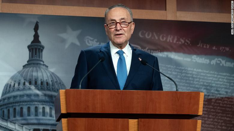 Schumer says House will send impeachment article to Senate on Monday