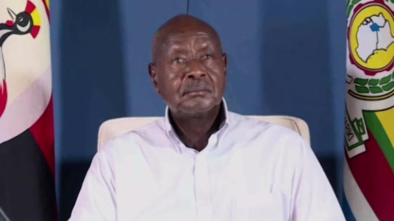 76-year-old Yoweri Museveni declared President of Uganda