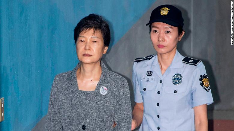 South Korea's top court upholds former leader Park Geun-hye's 20-year prison sentence