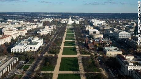 National Mall will be closed on Inauguration Day due to security concerns