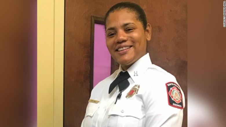 Trailblazing firefighter hopes to inspire unity when she recites Pledge of Allegiance at Biden's inauguration